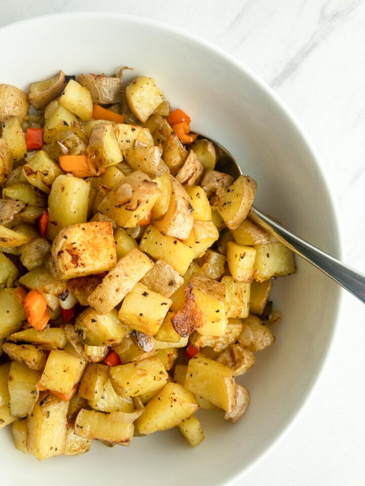 Roasted Breakfast Potatoes in a serving bowl